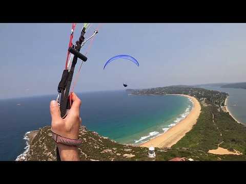 Paragliding Palm Beach to Manly Beach Sydney