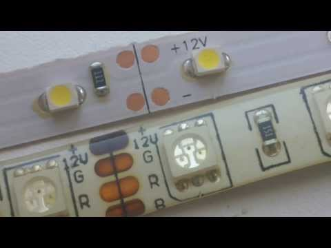 Светодиодная лента монтаж и установка