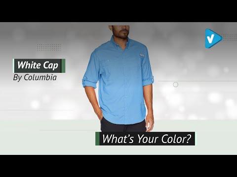 Columbia Men's PFG Tamiami II Long Sleeve Shirt, UPF 40 Sun Protection, Wicking Fabric
