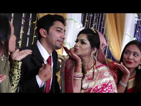 Cinematic Wedding Video Sampad & Priyanka at  Moon Light Garden | Rajshahi | Bangladesh