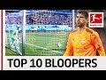 Top 10 Goalkeeper Bloopers of All Time