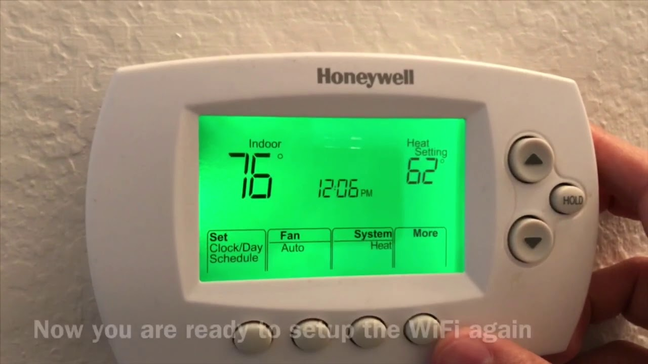 Connect Honeywell Thermostat To Wifi Easy Steps