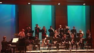 """Mambo Over the Mountain"" (Rick Hirsch):  RUHS Jazz Band B"