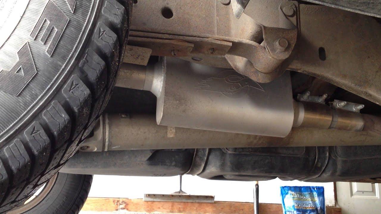 1999 4 0l ford ranger thrush welded muffler