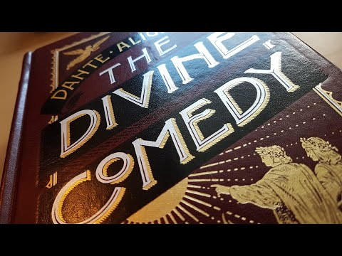 The Divine Comedy - Barnes & Noble Leatherbound review + com
