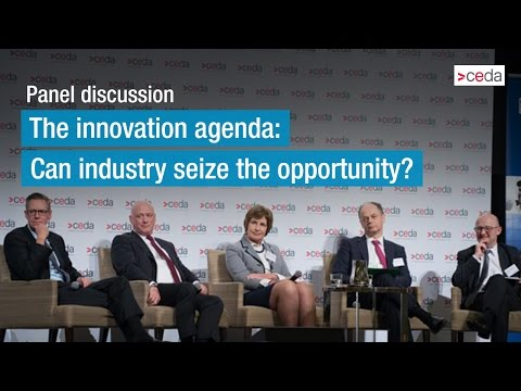 The innovation agenda: Can industry seize the opportunity? - Panel discussion