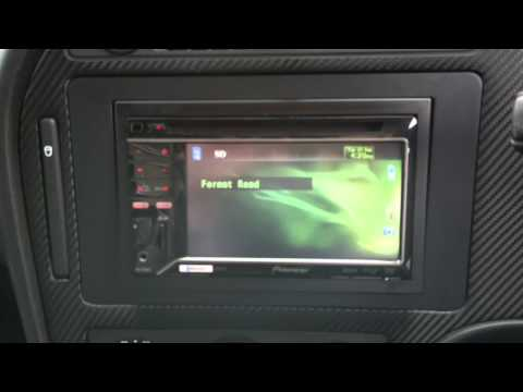 2006 Saab 9 5 Carbon Fibre Panel With Pioneer Double Din