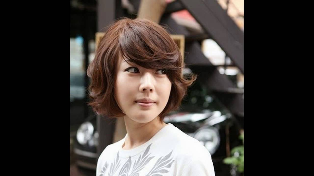 How I Curl My Short Hair korean short curly haircut ...