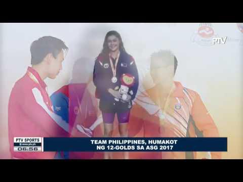 SPORTS BALITA: Team Philippines, humakot ng 12-Golds sa ASG 2017