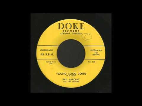 Phil Barclay - Young Long John - Rockabilly 45