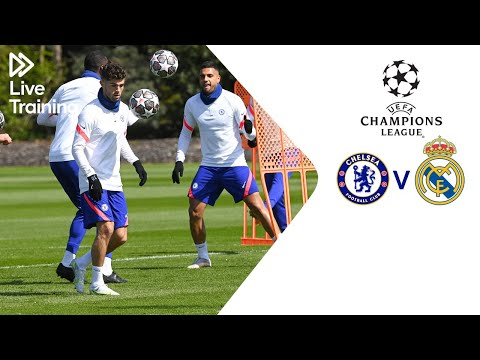 Chelsea Live Training | Chelsea v Real Madrid | UEFA Champions League