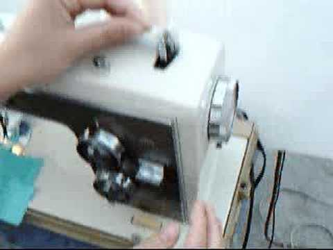 How To Fill A Bobbin On A Kenmore Vintage Sewing Machine YouTube Gorgeous How To Thread A Sears Kenmore Sewing Machine Model 2142