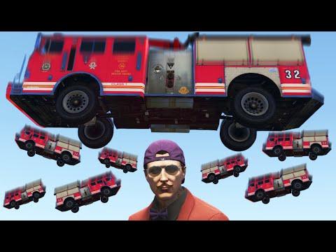 DODGE THE DEADLY TRUCKS! (GTA 5 Funny Moments)