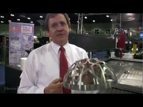 KNUTH 3D Smart Water-Jet Cutting Demo