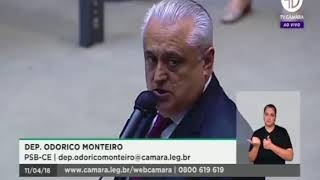 Dep Odorico Monteiro registra a posse do CESAU - Conselho Estadual de Saúde do Ceará.