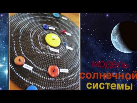 Макет солнечной системы своими руками.