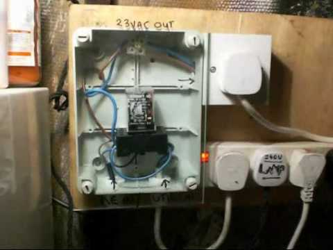3 Wire Single Phase Wiring Diagram Double Pull Double Throw Changeover Switch Divx Youtube