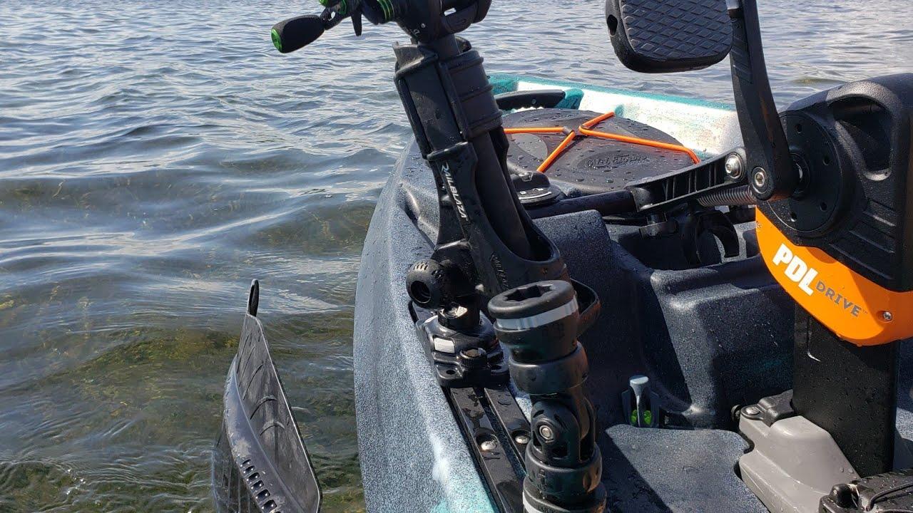 Simple Kayak Fishing Rigging Old Town Topwater PDL - NextFish