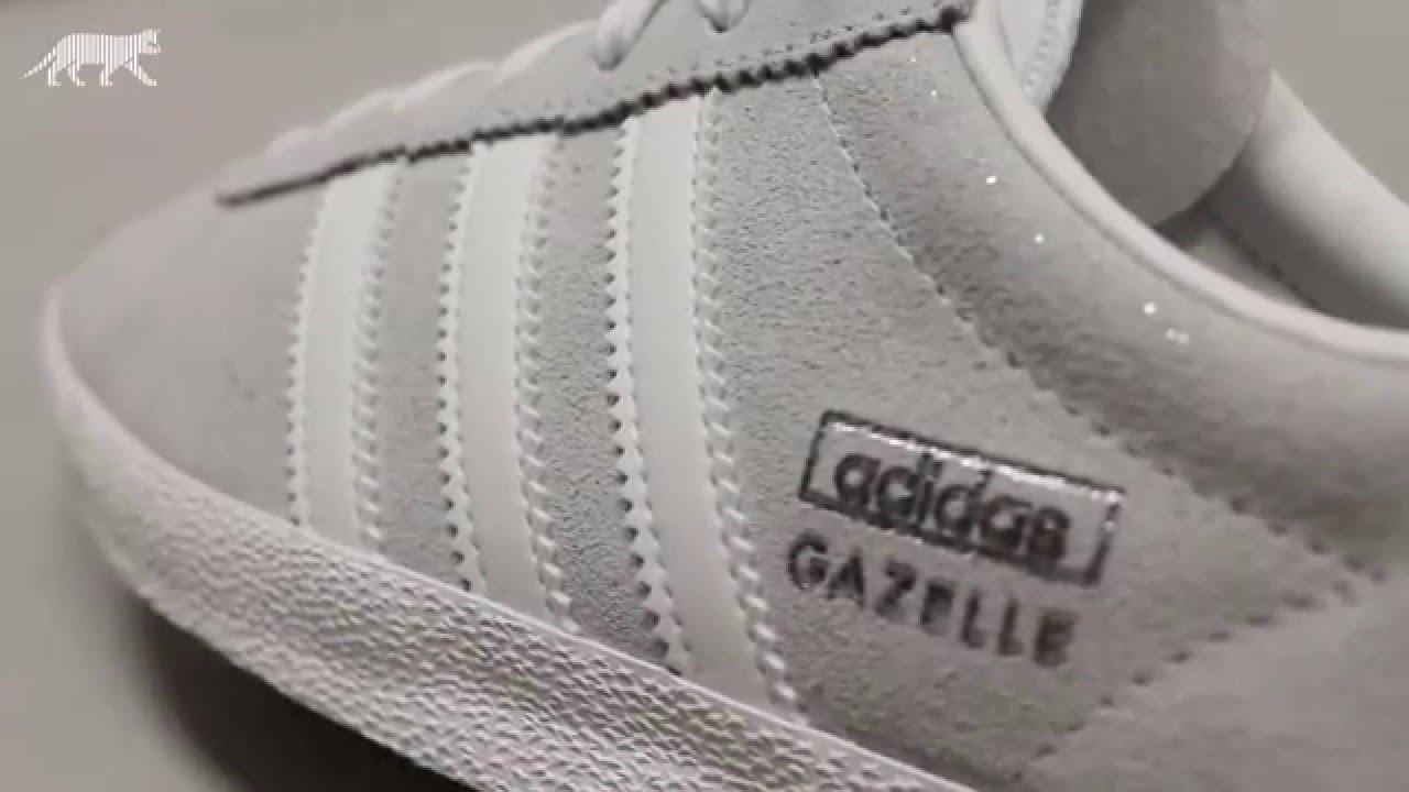 adidas gazelle with glitter