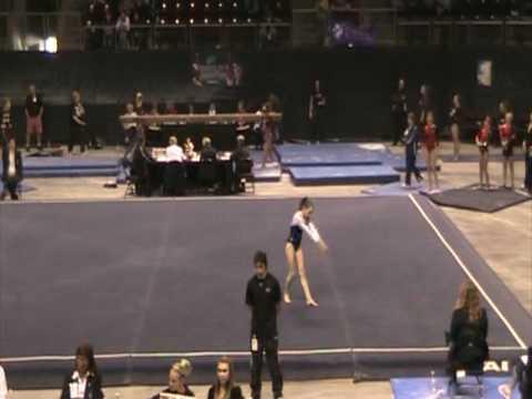 Casey Dreyer - Floor 9.55, Level 10 Regionals 2010...