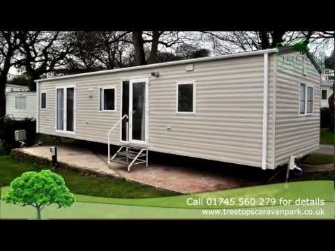 Carnaby Cascade Aspect Static Caravan For Sale At Tree Tops Caravan Park, North Wales