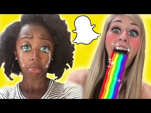 People Try Snapchat's New Selfie Filters