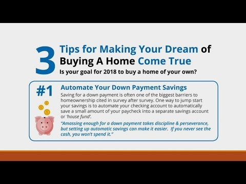 Three Tips On How To Buy Your First Dream Home