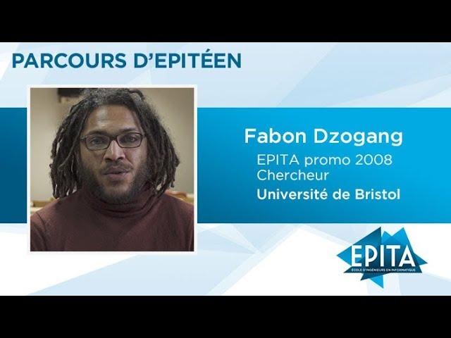 Parcours d'Epitéen - Fabon Dzogang (promo 2008) - Université de Bristol