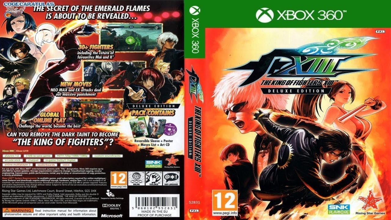 The King Of Fighters 13 Dlcs Xbox360 Jtag Rgh Youtube