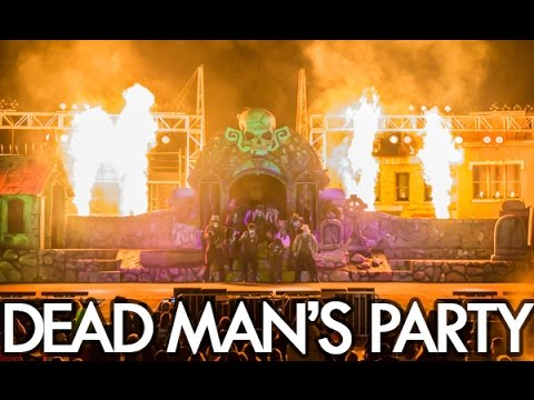 Dead Mans Party 2016: Graveyard Rock at Six Flags Great Adventure