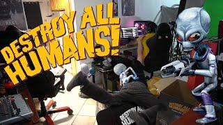 Angry Joe Destroys All Humans!
