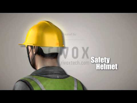 Ultratech Concrete Ltd. Industrial Plant Safety Animation by www.rivoxtech.com