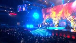 Jedward vanilla ice NTA Ice Ice Baby national television awards john and edward no1