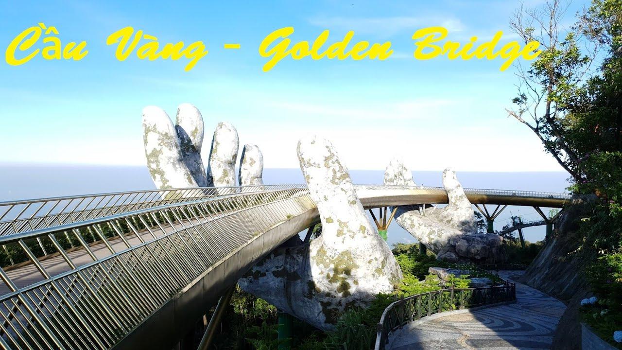 Trải Nghiệm Cáp Treo Bà Nà Hill, Cầu Vàng Việt Nam, Gold Bridge | Bana Hill Vietnam