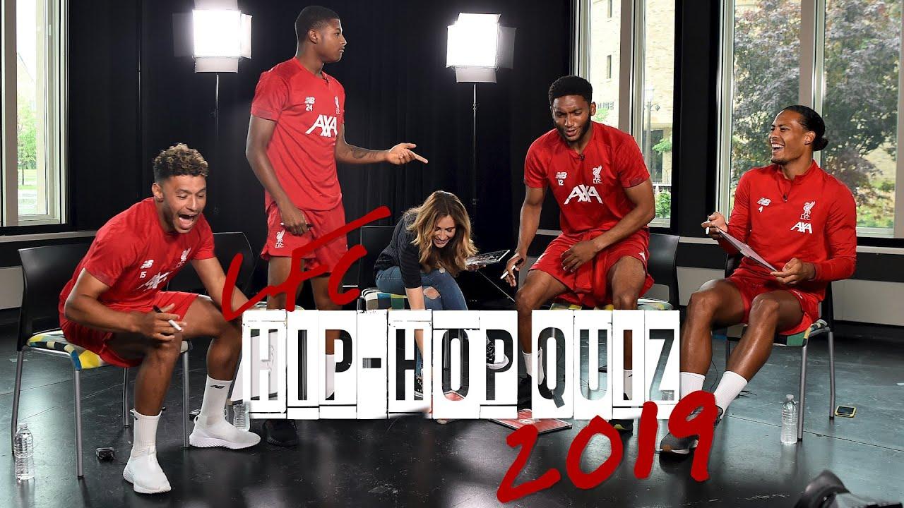 LFC Hip-Hop Quiz 2019: Ox v Brewster v Gomez v Van Dijk | Who will take the crown?
