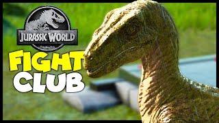 Velociraptor Fight Club! - Velociraptor Gameplay - Jurassic World Evolution : Part 4