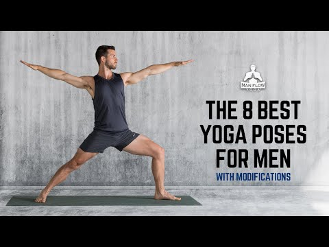 The 8 best yoga poses for men (with modifications) | #yogaformen