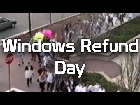 Windows Refund Day - When Linux Users Demanded Their Money Back