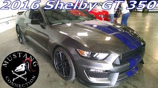 "Start up! 500 + HP 2016 Shelby GT 350 ""Magnetic"" Gray  Carroll Shelby Tribute and Car Show"