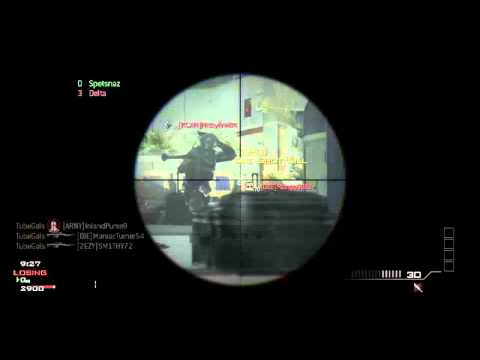 TubeGals  MW3 Game Clip
