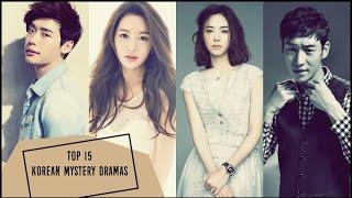 Top 15 Korean Mystery Dramas