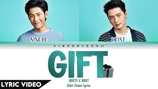 Download lagu Cover By: คริส-สิงโต (Krist - Singto) - ของขวัญ / Kaung Kwun (Gift) l (Thai/Rom/Eng) Lyric Video