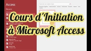 Baixar Cours Formation Initiation à Microsoft Access