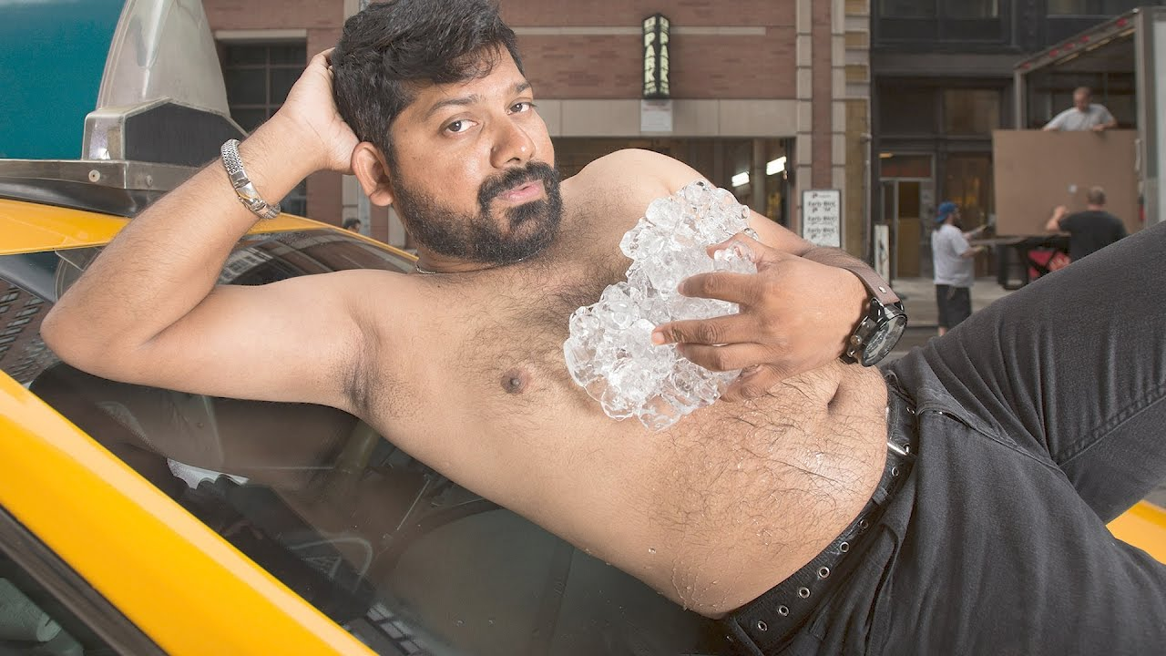 HILARIOUS! New York City Taxi Driver's Strip Down for Steamy Calendar Shoot | Splash News TV