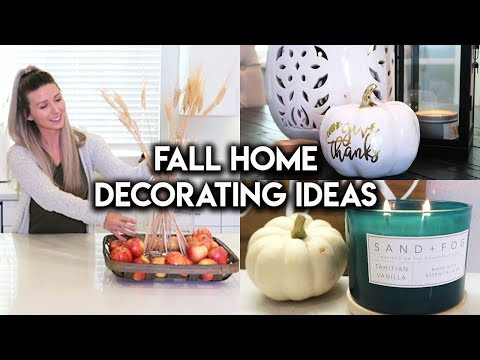 FALL DECORATE WITH ME | KITCHEN DECOR IDEAS
