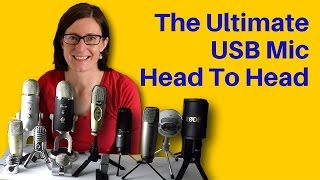 The Best USB Microphones: 12 USB Mics Compared in 5 Videos