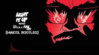 Major Lazer - Light It Up (feat. Nyla &amp Fuse ODG) [Remix] (Maicol Bootleg)