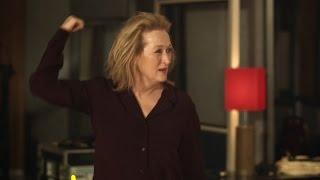 Así celebró Meryl Streep su nominación a los Oscar