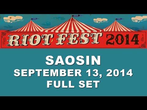 SAOSIN @ Riot Fest Chicago 2014 (Full Set)