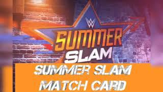WWE-summer slam MATCH card and RESULT  கசிந்தது????